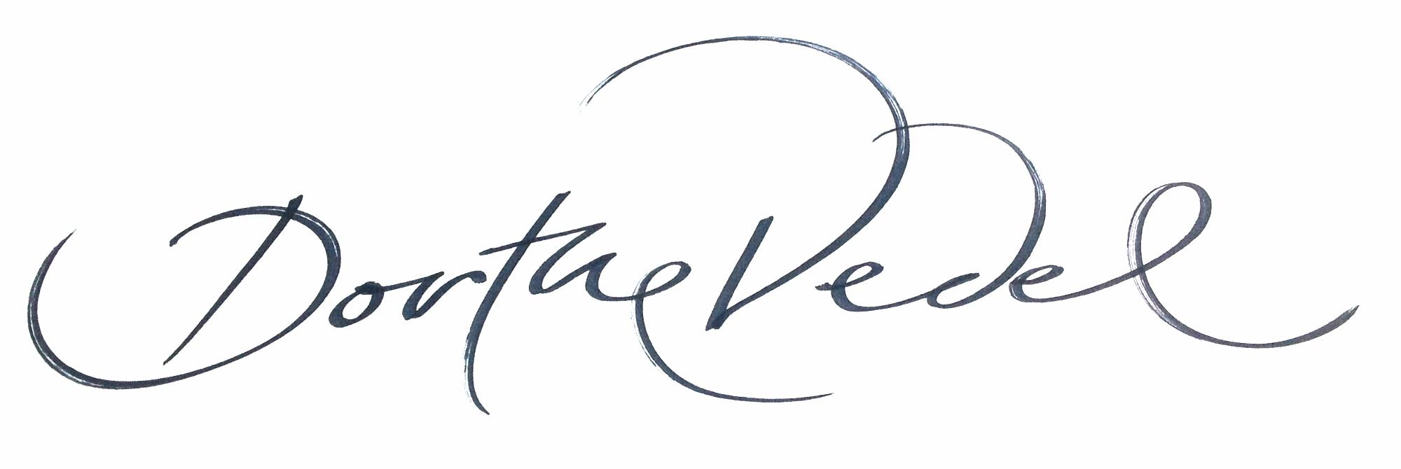 Dorthe Vedel logo